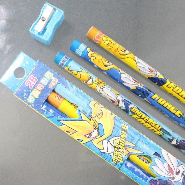 賽爾號學齡前鉛筆 學齡前兒童專用大三角鉛筆 2B/一小盒3支入{促60}~正版授權