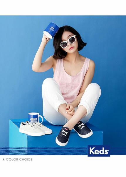 Keds 經典美式休閒帆布鞋(靛藍) 4