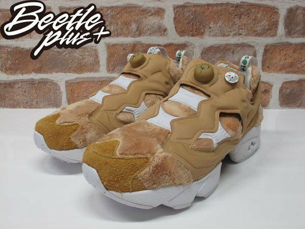 BEETLE BAIT X TED 2 X REEBOK NASTY INSTAPUMP FURY 熊麻吉 聯名 生氣版 毛毛 泰迪熊 泰德 慢跑鞋 AQ9351 1