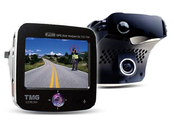 ☆育誠科技☆實體店面/送16G卡『TMG GDR360 』1080P行車紀錄器+GPS測速器+導波管雷達雷射一體機/台灣製造/另售征服者AI-510