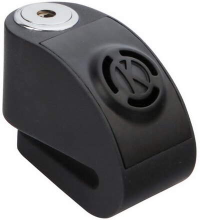 《育誠科技》『KOVIX KD6 黑色』警報碟煞鎖/CR2電池/送原廠收納袋+提醒繩/6mm鎖心/一般車通用款/另售鋼甲武士機車大鎖