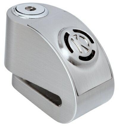 《育誠科技》『KOVIX KD6 銀色』警報碟煞鎖/CR2電池/送原廠收納袋+提醒繩/6mm鎖心/一般車通用款/另售鋼甲武士機車大鎖