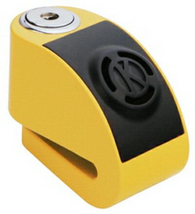 《育誠科技》『KOVIX KD6 黃色』警報碟煞鎖/CR2電池/送原廠收納袋+提醒繩/6mm鎖心/一般車通用款/另售鋼甲武士機車大鎖