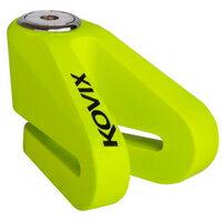 《育誠科技》『KOVIX KV1 綠色』碟煞鎖/送原廠收納袋+提醒繩/5mm鎖心/一般車通用款/另售鋼甲武士機車大鎖