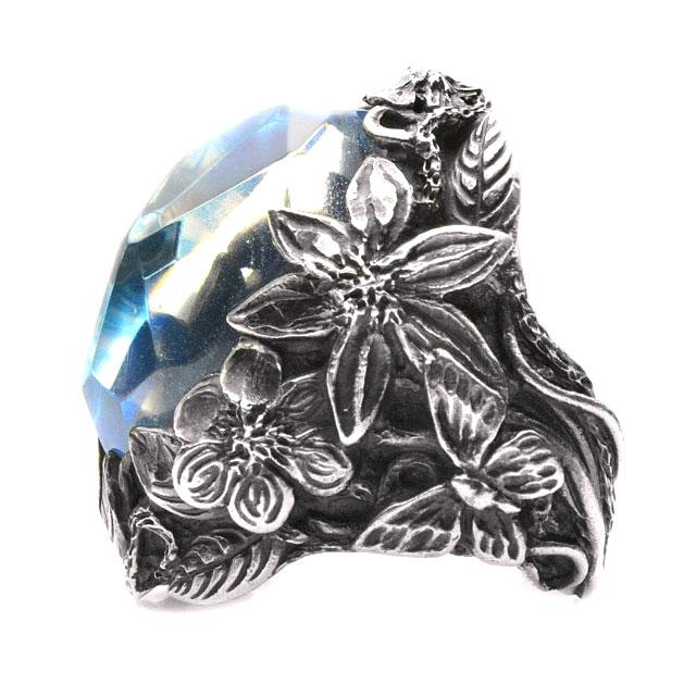 【海外訂購】【LYLY ERLANDSSON】the WINTER 極寒冰雪純銀戒指 - 冰晶藍(L-02-001) 3
