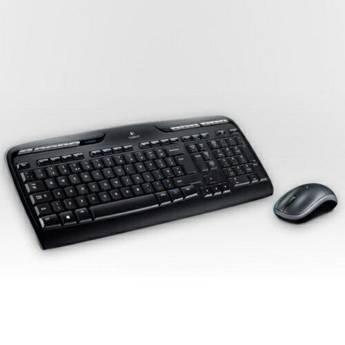 滑鼠壓扣式設計可收納接受器!【Logitech 羅技】自訂多媒體快捷鍵 Unifying 接收器無線鍵盤滑鼠組 MK330