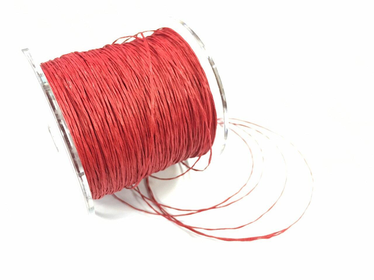 紙繩緞帶 1mm 100碼裝 (5色) 3