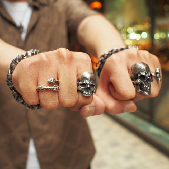 【海外訂購】【MAD CULT】殺戮骷髏純銀戒指(MAD-R-26) 1