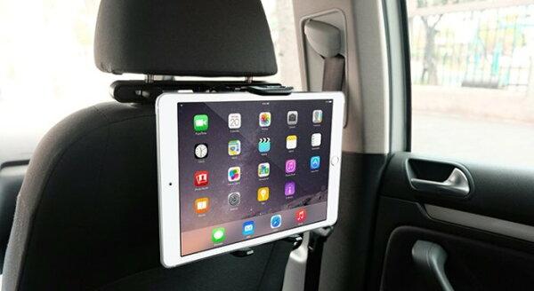 Macally 車用座椅 頭枕 iPad系列 iPad Air 平板電腦 通用型 固定支架