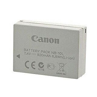贈專用座充【Canon】NB-10L 原廠鋰電池 (裸裝)