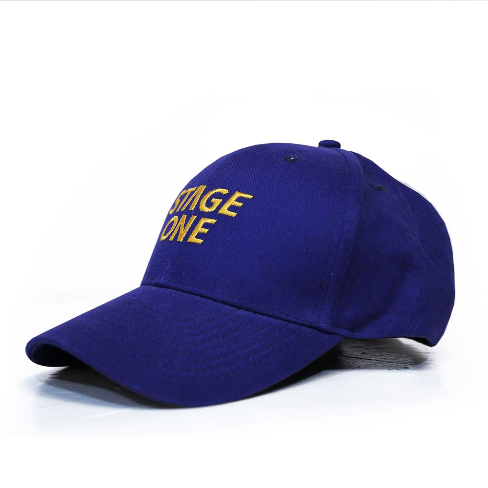 STAGEONE LOGO BASEBALL CAP 黑色 / 丈青色 / 卡其色 三色 5
