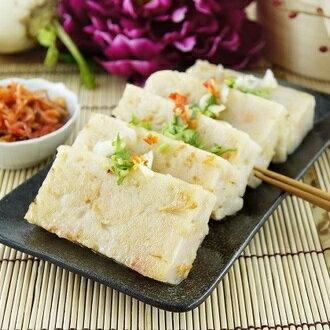 客家芋頭粿X 港式櫻花蝦菜頭粿