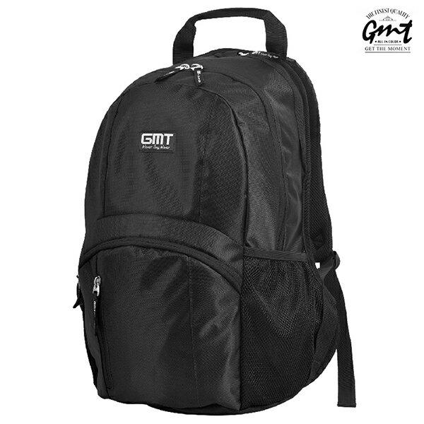 E&J【011011-04】免運費,GMT挪威潮流品牌 專業電腦背包 黑色 附15吋筆電夾層;登山包/雙肩豬鼻包