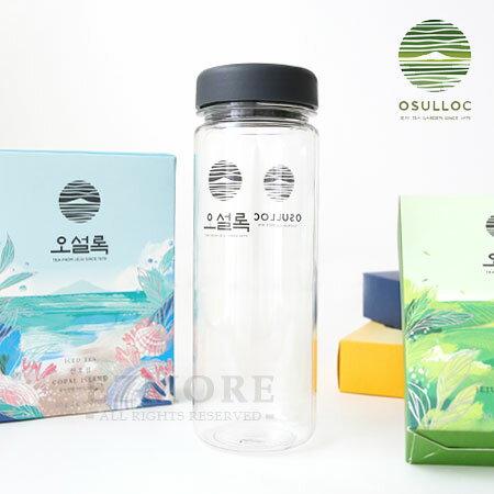 韓國 OSULLOC 冷泡茶水瓶 500ml 透明水瓶 隨身杯 隨行杯 水杯 杯子 水瓶【N101513】