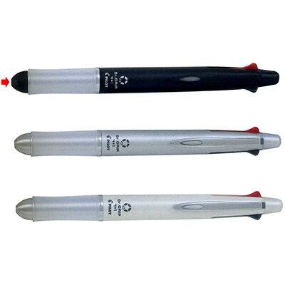 【文具通】PILOT 百樂 BKHDF-1SR 健握4+1多功能筆 黑桿 A1011266
