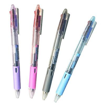 【文具通】TEMPO 3C-200三色自動原子筆[長] A1011537