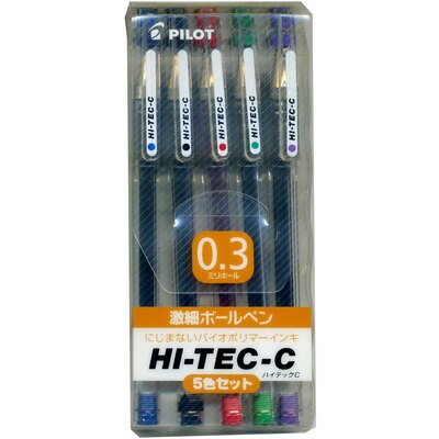 ~文具通~PILOT LH0.3超細鋼珠筆5C組入 A1100050 ~  好康折扣
