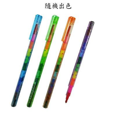 【文具通】聖得 繁星T-1501可擦拭三角彩虹筆 A1180073