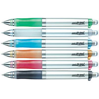 【文具通】UNI 三菱 α-gel  阿發自動鉛筆(白)