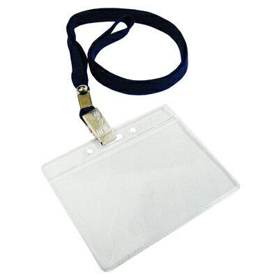 【文具通】無印字識別套+布帶組[深藍]台製 F6010514