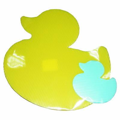 【文具通】小鴨造型PP塑膠瓦楞板 中 23x22cm H9010175