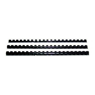【文具通】14 m/m裝訂膠環[黑] K5010005