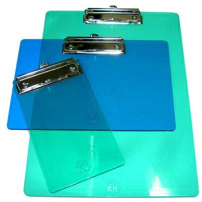 【文具通】A4壓克力板夾特大312x215mm直 EP-041 L1070005