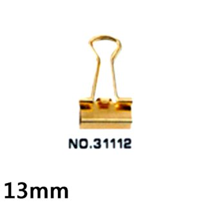 【文具通】Foot 足勇31112金色長尾夾13mmNO.227 L1090035