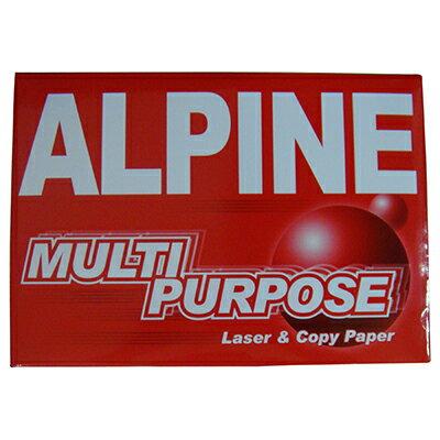 【文具通】ALPINE A4 70P多用影印紙白500ps P1410645