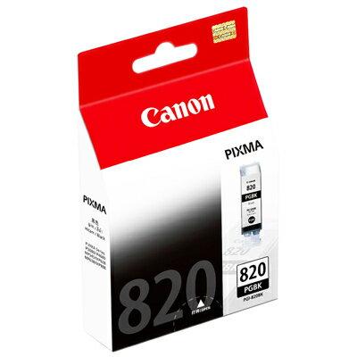 【文具通】Canon PGI-820BK墨水匣.黑 R1010500