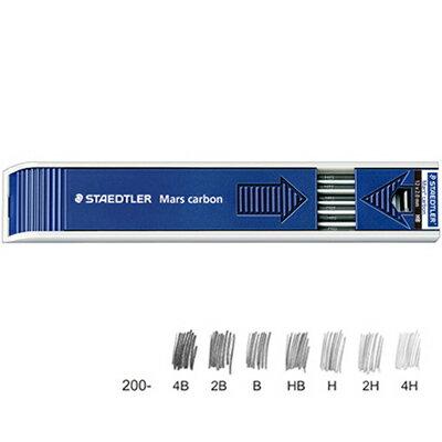 【文具通】STAEDTLER 施德樓 MS200 工程製圖筆芯 F S1010069