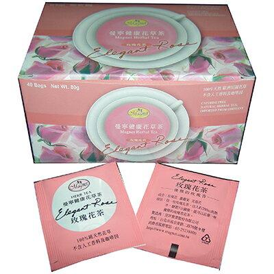 【文具通】曼寧玫瑰花茶包2g*40入 目前庫存有效期限至2016/11/20 SY000001