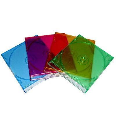 【文具通】超薄單片CD整理盒 ZDMSD-51B