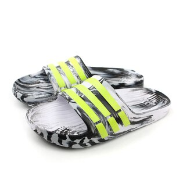 adidas 拖鞋 黑白色 男女鞋 no329