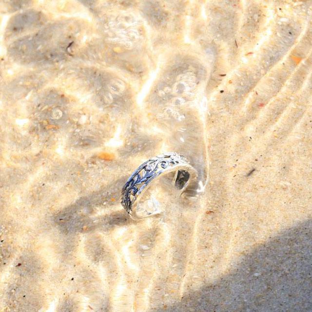 【海外訂購】【Bloody Mary】Favor 純銀戒指(鑲鑽款) (BMR1196-Wd) 2