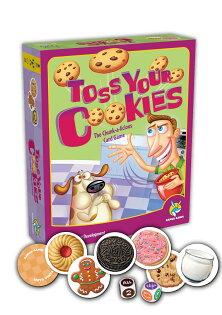 【瘋桌遊】就是要拿食物來玩!|餅乾大戰