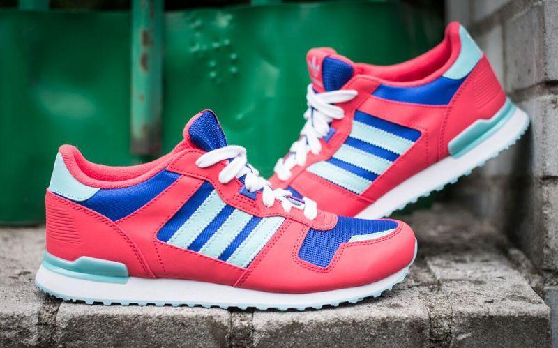 【adidas 】愛迪達 ADIDAS ZX 700 K   女慢跑鞋-B25616 3