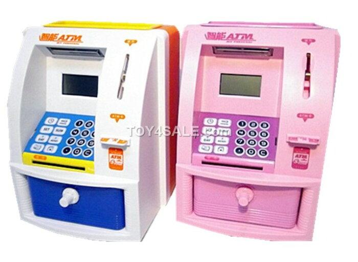 Toy Atm Machine : Kids bank atm money coin box machine digital