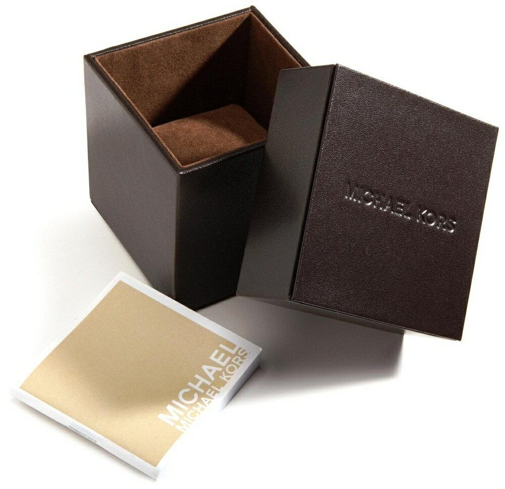 美國Outlet 正品代購 MichaelKors MK 金色熱吻巴黎三環計時手錶腕錶 MK5798 7