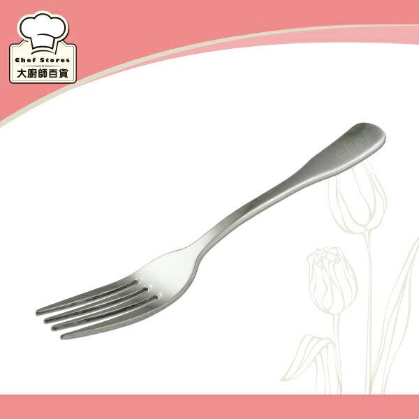 OSAMA王樣義式大餐叉子304厚料不銹鋼牛排叉-大廚師百貨