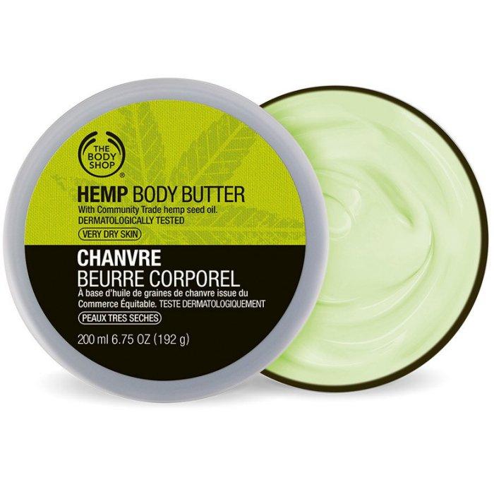 【彤彤小舖】The Body Shop 大麻籽密集修護身體滋養霜 6.75oz / 200ml