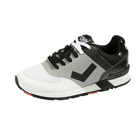 【陽光樂活】PONY SOLA-T復古慢跑鞋 黑灰白 54M1SO62RW 男款