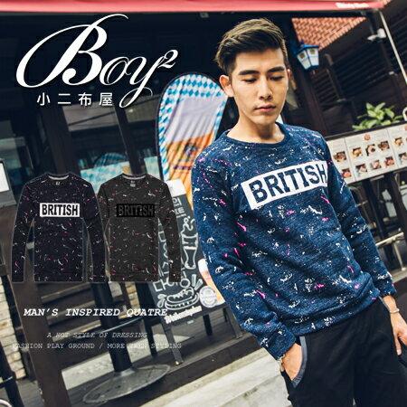 ☆BOY-2☆ 【KKL1067】BRITISH針織毛衣 0