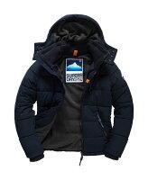 Superdry極度乾燥商品推薦[男款] 英國代購 極度乾燥 Superdry Bluestone 男士鋪棉運動防水風衣休閒外套夾克 海軍藍
