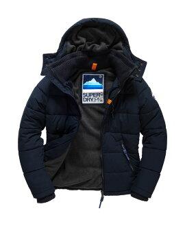 [男款] 英國代購 極度乾燥 Superdry Bluestone 男士鋪棉運動防水風衣休閒外套夾克 海軍藍