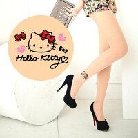 凱蒂貓週邊商品推薦到Meinas美娜斯 蝴蝶結愛心Hello Kitty褲襪透明色