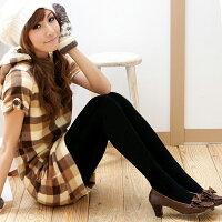 保暖服飾推薦Meinas美娜斯 特厚 裏起毛 刷毛褲襪-黑(2雙入) 黑