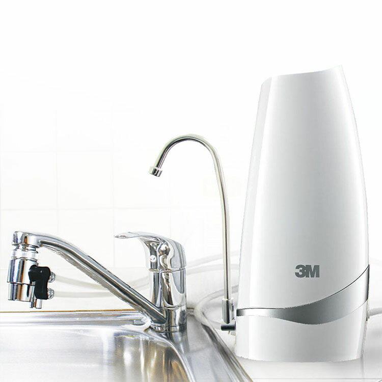 3M 桌上型淨水器-鵝頸款DS02-CG-白 1