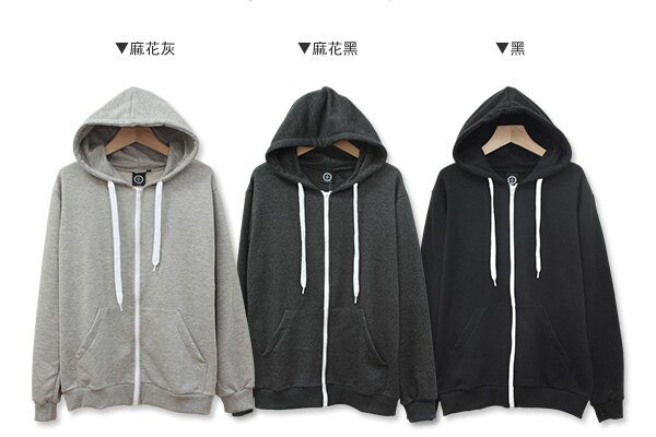 ☆BOY-2☆【KK0160】連帽外套 休閒棉質連帽抽繩外套 2