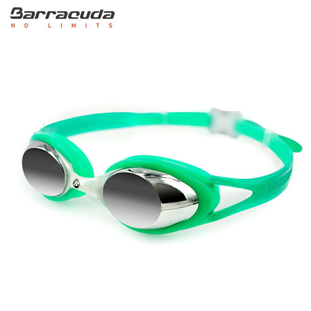美國巴洛酷達Barracuda兒童抗UV電鍍泳鏡-CARNAVAL#34710 2